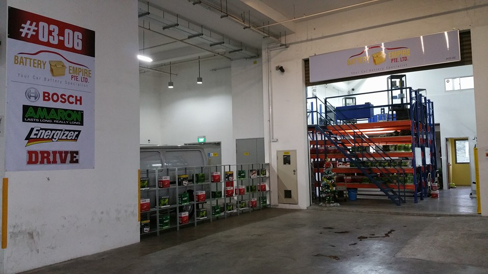 Car Battery Workshop at Yishun Singapore